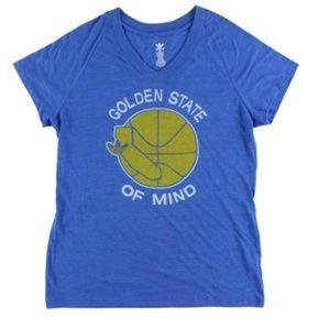 ADIDAS: Golden State of Mind V-Neck Top